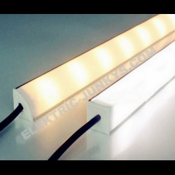 10m Indirect Lighting aluminum LED corner profiles for LED strip , Channels, Lighting Extrusions