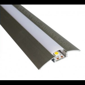 10m Indirect Lighting aluminum LED profiles for LED strip , Channels, Lighting Extrusions LED Floor Tiling