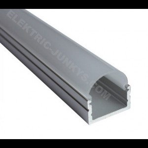 10m Indirect Lighting aluminum LED profile U LED strip 20mm x 16mm , Channels, Lighting Extrusions LED Floor Tiling
