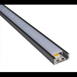 10m Indirect Lighting aluminum LED profiles for LED strip 15mm , Channels, Lighting Extrusions LED Floor Tiling