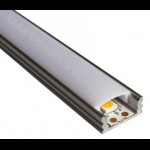 10m Indirect Lighting aluminum LED profiles for LED strip 17.5mm , Channels, Lighting Extrusions LED Floor Tiling
