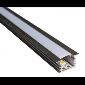 10m Indirect Lighting aluminum LED profile U LED strip 22mm x 11.87mm , Channels, Lighting Extrusions LED Floor Tiling