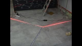 LED Floor Tiling DIY How To Pimp Your Floor. U2039 U203a