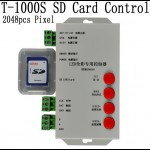T-1000S SD Card Controller for Animated LED Displays including Software