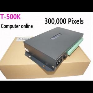 T500K RGB LED Pixel controller Live transmission WS2801/WS2811/6812/8806/APA102 8 ports up to 300000 pixels