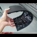 LED Soft panel P2.5 flexible LED module High Definition