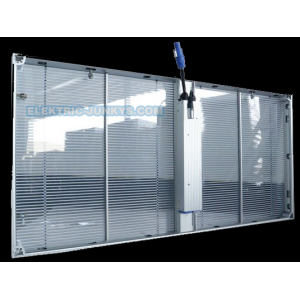 Transparent LED screen display P3.9-7.8 | Clear ice LED Screen | elektric-junkys