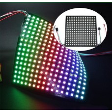 16*16  LED Panel WS2812B RGB LED Full Color Digital Flexible Display Board 5V 256 Pixels