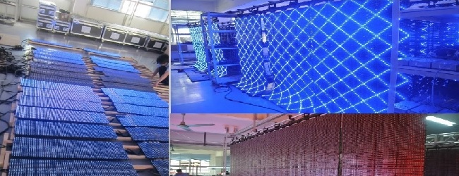 Flexible LED Screens P9 LED Factory China