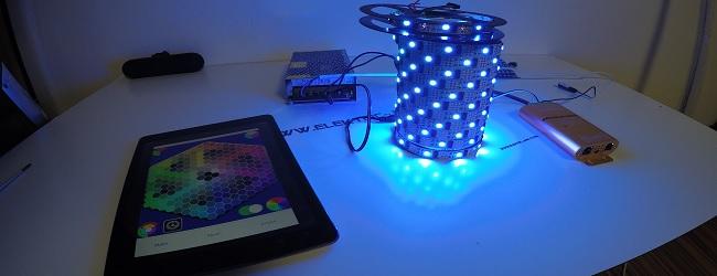 LED Wifi Controller WS2812b