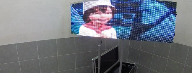 LED Flexible Screens Curve Screen
